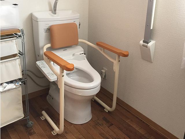 補助付きトイレ